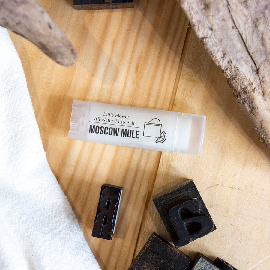 Moscow Mule all natural lip balm.