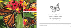 MIMI the Monarch, a children's science picture book. Learn about monarch migration.