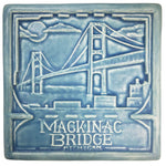 Mackinac Bridge Art Tile