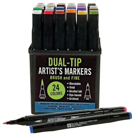Dual Tip Artists Markers