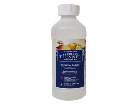Pro Art Odorless Thinner for Oil Painting