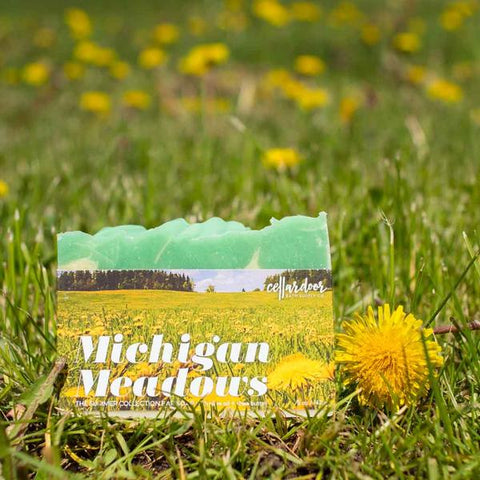 Michigan Meadows Bar Soap
