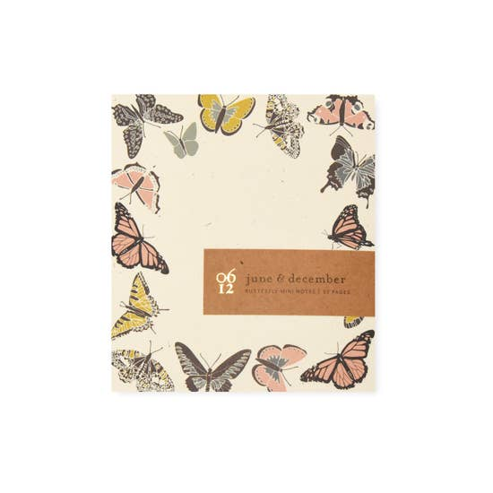 Butterfly Mini Note Pad