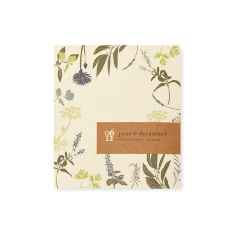 Herb Mini Note Pad