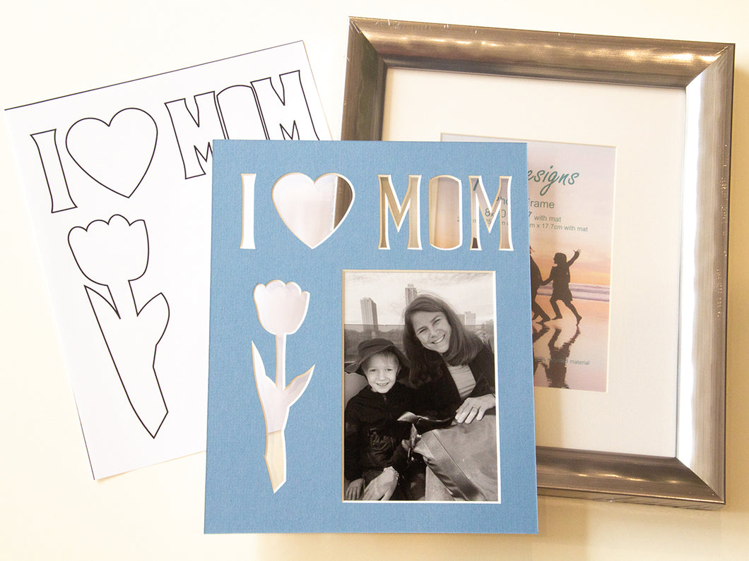 Mother's Day Mat & Frame Kit
