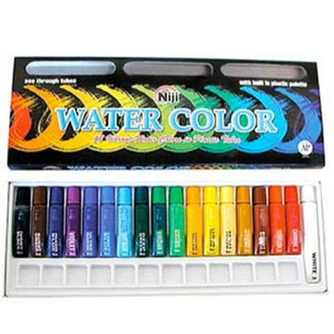 Yasumoto Niji Watercolor Set of 18