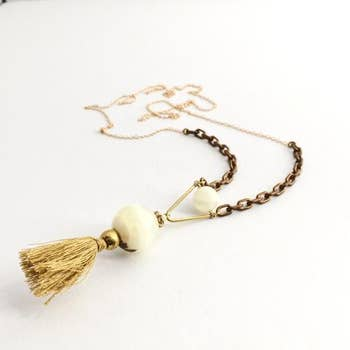 Phases Necklace-Gold