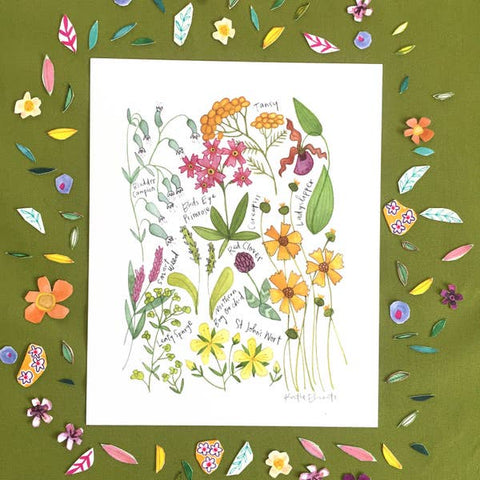 Northern Wildflowers Print