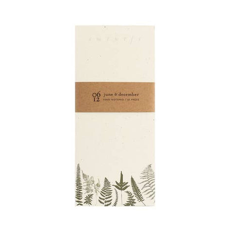Fern Note Pad