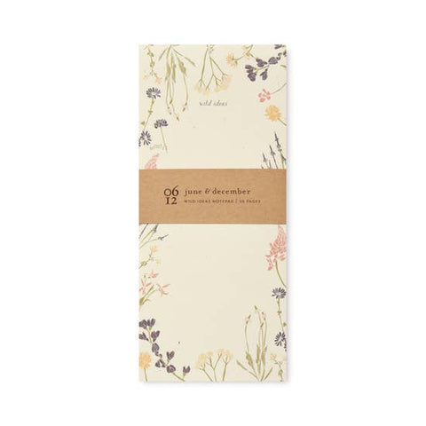 Wild Ideas Note Pad