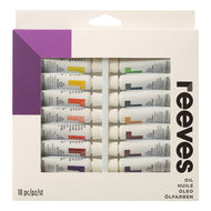 Reeves Oil Color 10ml Tube Set of 18