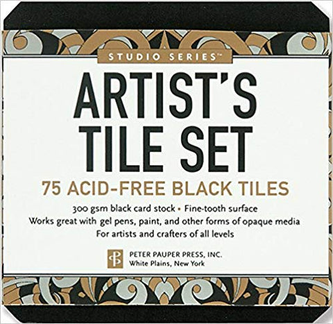 Artist's Tile Set Black
