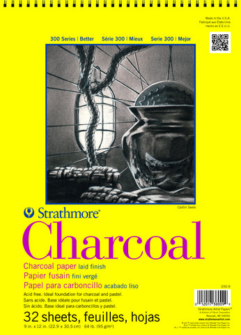 Strathmore Charcoal Paper Pack