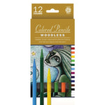Pentallic Woodless Colored Pencils - 12 Colors