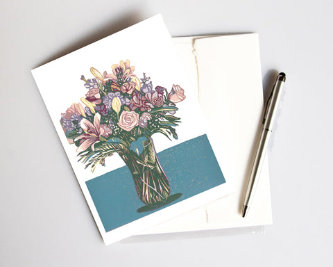 Bouquet – card