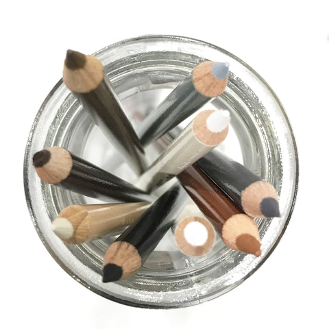 Prismacolor Pencils – Neutrals Black, Grey, Brown & White