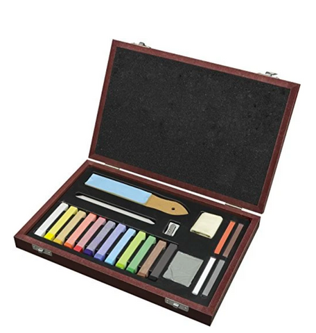 Pentallic Soft Pastel Drawing Set- 21 Piece