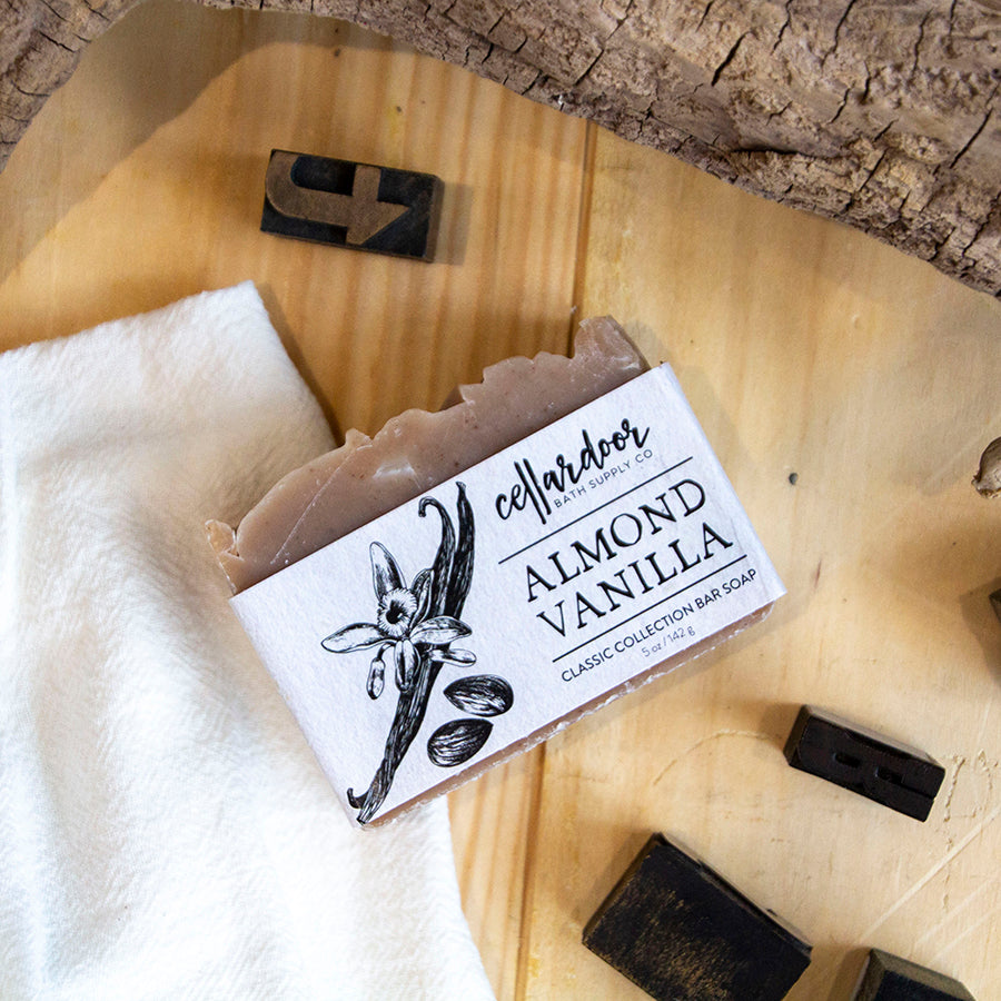 Almond Vanilla Bar Soap
