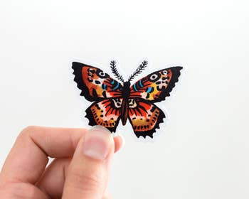 Butterfly Animal Vinyl Sticker