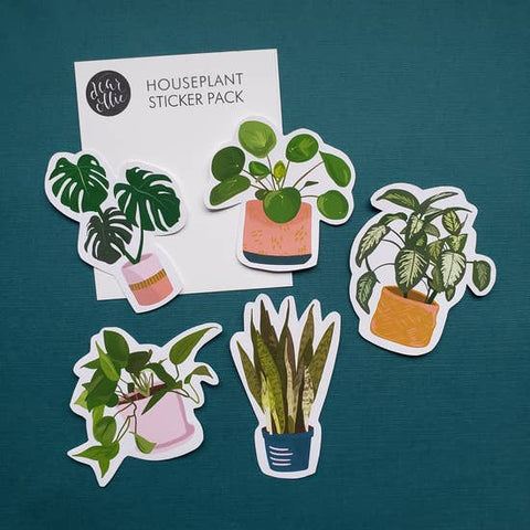House Plant Vinyl Sticker Pack