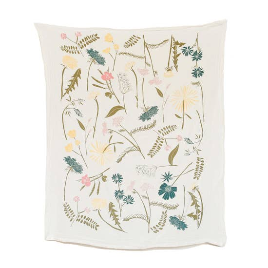 Meadow Flour Sack Tea Towel