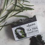 Tea Tree + Charcoal Bar Soap