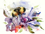 Nectar - Bee Watercolor Tile