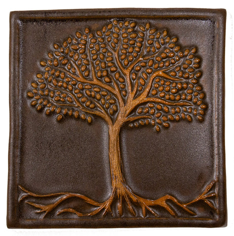 6x6 Tree of Life - Brown