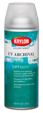 Krylon UV Archival Satin Varnish