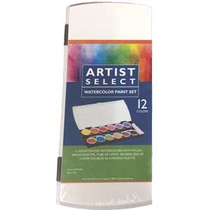 Artist Select Watercolor Paint Set