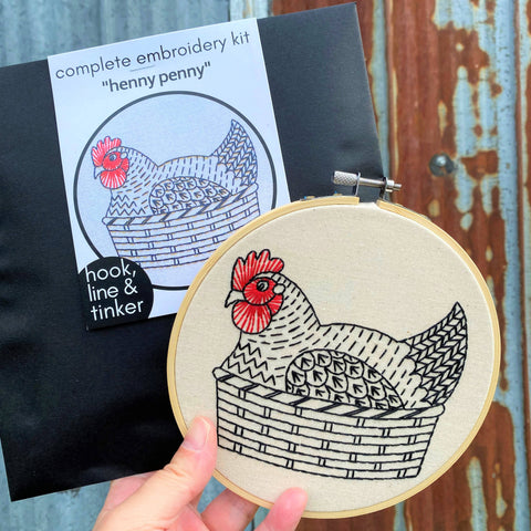 Henny Penny Embroidery Kit