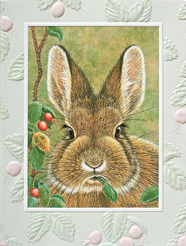 Bunny Brunch Greeting Card