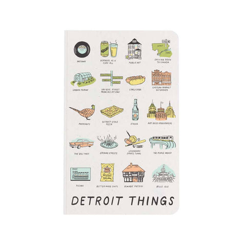 Detroit Things Notebook