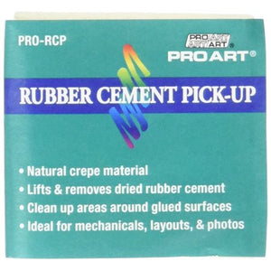 Rubber Cement Eraser