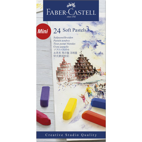 Faber Castell Creative Studio Soft Pastel Set of 24