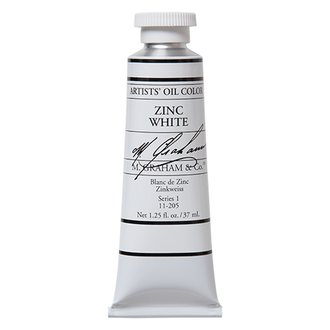 M Graham Zinc White Oil Paint 5 oz