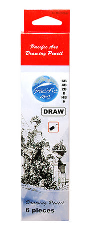 Pacific Arc 6pc Drawing Pencil Pack