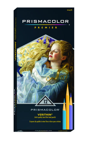 Prismacolor Verithin Assorted 12 Pack