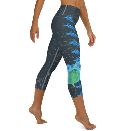 Sea Turtle Water Leggings