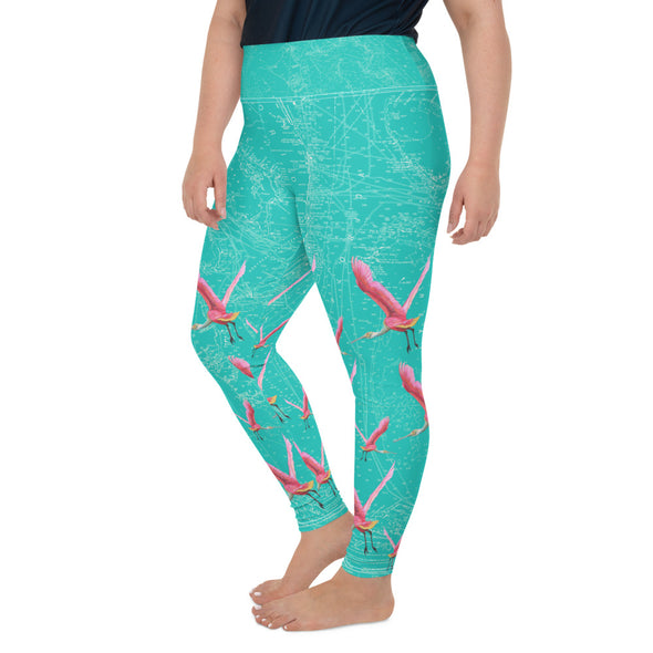 Plus Size Water Leggings