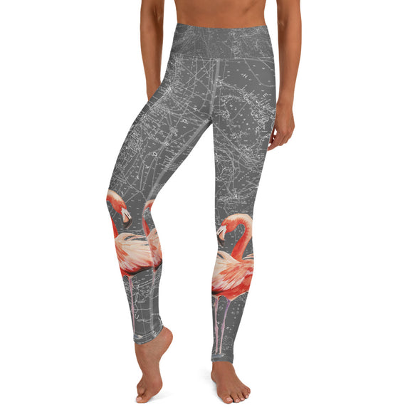 Flamingo Water Leggings