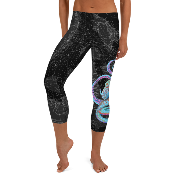 Night Octopus Water Leggings