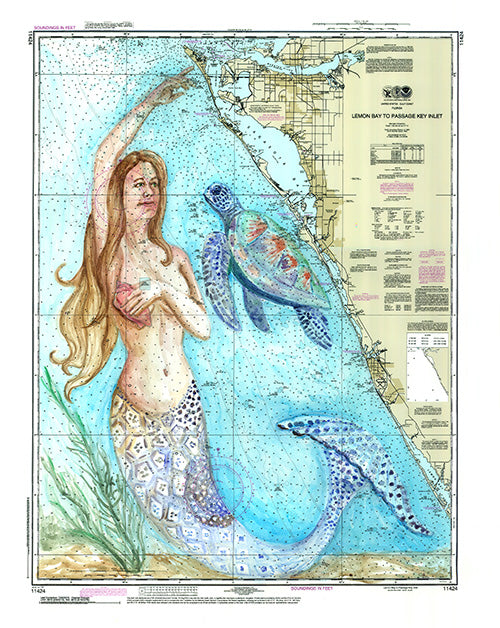 Gulf Coast Mermaid