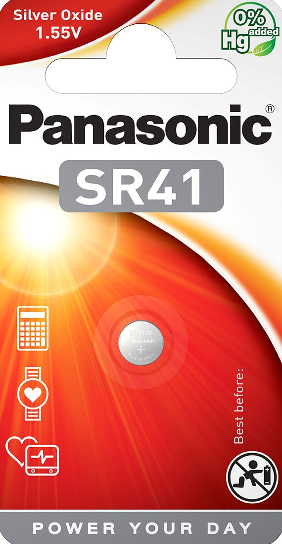 Panasonic SR41 (384/392) battery