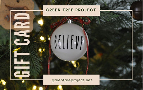 Green Tree Project Gift Card