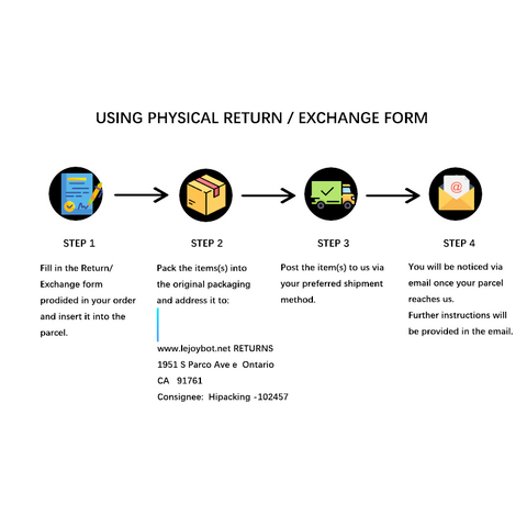 Return / Exchange form