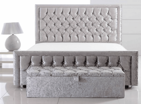 Derby Upholstered Bed Frame