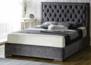 Rose Upholstered Bed Frame