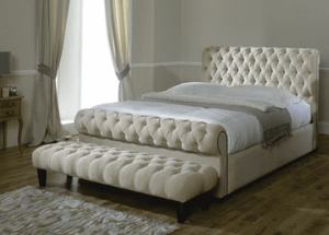 Royal Chesterfield Upholstered Bed Frame