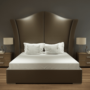 Luxury Crown Upholstered Bed